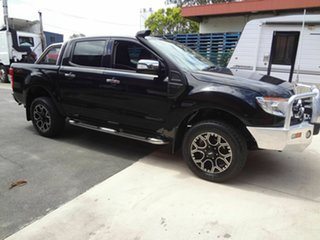 2013 Ford Ranger PX XLT 3.2 (4x4) Black 6 Speed Manual Double Cab Pick Up