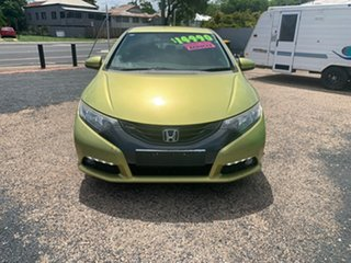 2012 Honda Civic Green Coupe.