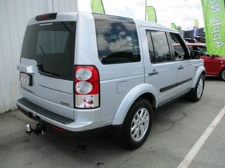 2010 Land Rover Discovery 4 Silver 4 Speed Automatic Wagon