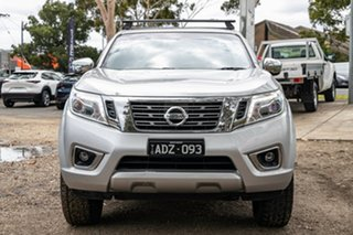 2015 Nissan Navara D23 ST Silver 6 Speed Manual Utility