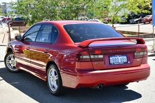 2001 Subaru Liberty B3 MY01 Heritage AWD Red/Black 4 Speed Automatic Sedan.