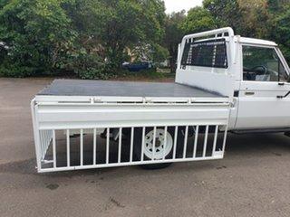 1989 Toyota Landcruiser HJ75RP (4x4) White 5 Speed Manual Utility
