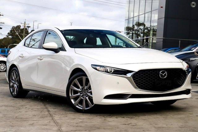 New Mazda 3 BP2SLA G25 SKYACTIV-Drive GT Waitara, 2020 Mazda 3 BP2SLA G25 SKYACTIV-Drive GT White 6 Speed Sports Automatic Sedan