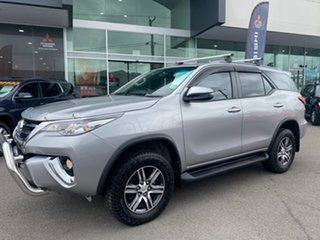 2018 Toyota Fortuner Silver Automatic Wagon.