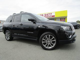 2015 Jeep Compass MK MY15 Limited Black 6 Speed Sports Automatic Wagon