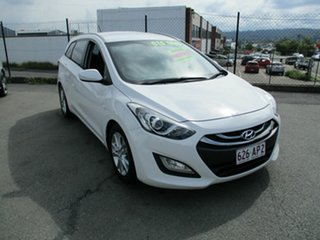 2012 Hyundai i30 White 4 Speed Automatic Wagon.