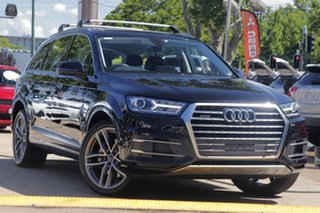 2017 Audi Q7 4M MY17 TDI Tiptronic Quattro Black 8 Speed Sports Automatic Wagon