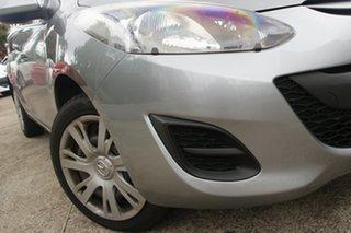 2013 Mazda 2 DE MY13 Neo Grey 4 Speed Automatic Hatchback.