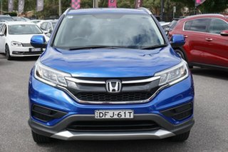 2016 Honda CR-V RM Series II MY17 VTi Blue 5 Speed Automatic Wagon.