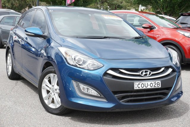 Used Hyundai i30 GD2 MY14 Trophy Phillip, 2014 Hyundai i30 GD2 MY14 Trophy Blue 6 Speed Sports Automatic Hatchback