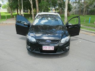2011 Ford Falcon FG MkII XR6 Super Cab Black 6 Speed Manual Cab Chassis