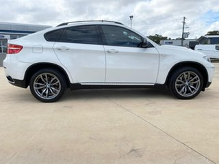 2012 BMW X6 M50D White Sports Automatic Wagon