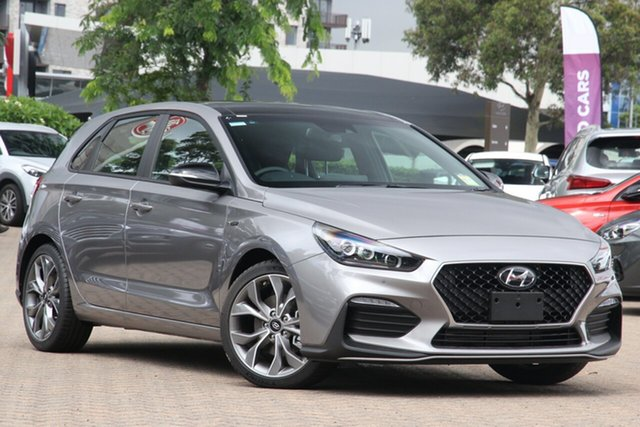 New Hyundai i30 PD.V4 MY21 N Line Premium Moorooka, 2020 Hyundai i30 PD.V4 MY21 N Line Premium Fluid Metal 6 Speed Manual Hatchback