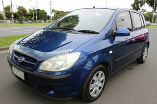 2007 Hyundai Getz TB MY06 Blue 4 Speed Automatic Hatchback.