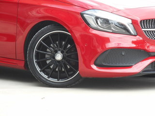 2017 Mercedes-Benz A-Class W176 807MY A180 D-CT Red 7 Speed Sports Automatic Dual Clutch Hatchback.