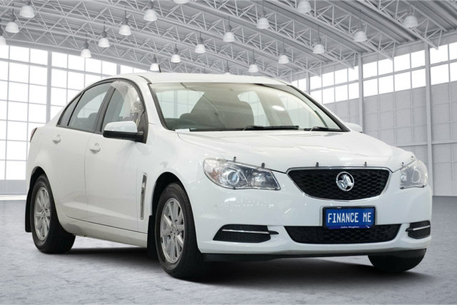 Used Holden Commodore VF II MY16 Evoke Victoria Park, 2016 Holden Commodore VF II MY16 Evoke White 6 Speed Sports Automatic Sedan