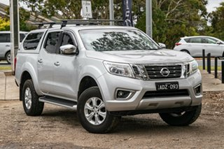 2015 Nissan Navara D23 ST Silver 6 Speed Manual Utility.