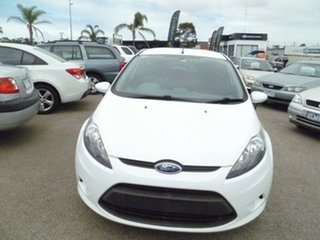 2010 Ford Fiesta WS LX White 5 Speed Manual Hatchback.