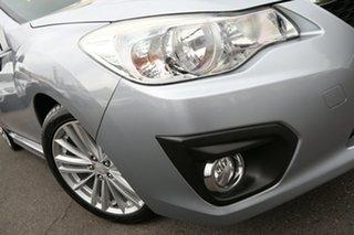 2012 Subaru Impreza G4 MY12 2.0i-S Lineartronic AWD Ice Silver 6 Speed Constant Variable Sedan.