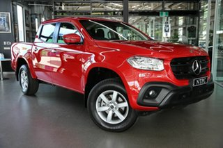 2020 Mercedes-Benz X-Class 470 X250d 4MATIC Progressive Red 7 Speed Sports Automatic Utility.