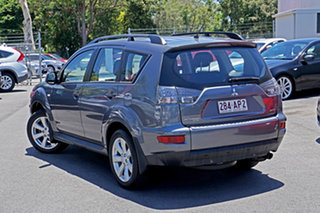 2011 Mitsubishi Outlander ZH MY11 Activ 2WD Grey 6 Speed Constant Variable Wagon.