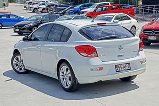 2015 Holden Cruze JH Series II MY16 Equipe White 6 Speed Sports Automatic Hatchback.