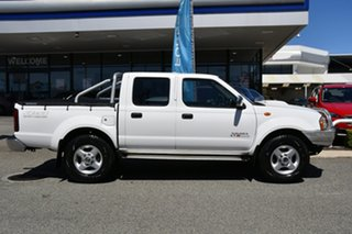 2009 Nissan Navara D22 MY2009 ST-R White 5 Speed Manual Utility