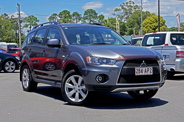 Used Mitsubishi Outlander ZH MY11 Activ 2WD Chandler, 2011 Mitsubishi Outlander ZH MY11 Activ 2WD Grey 6 Speed Constant Variable Wagon