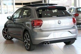 2021 Volkswagen Polo AW MY21 GTI DSG Limestone Grey 6 Speed Sports Automatic Dual Clutch Hatchback.