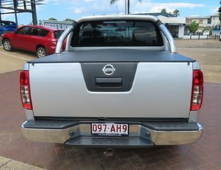2014 Nissan Navara ST Silver 6 Speed Manual Dual Cab