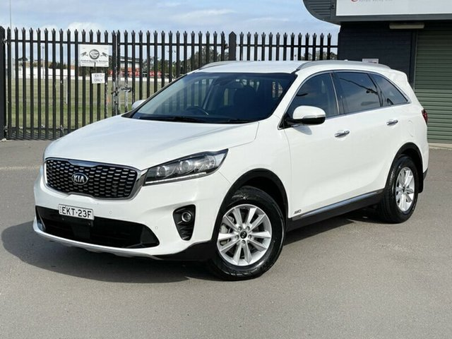 Used Kia Sorento UM MY18 Si AWD Newcastle, 2017 Kia Sorento UM MY18 Si AWD White 8 Speed Sports Automatic Wagon
