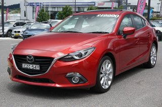 2014 Mazda 3 BM5436 SP25 SKYACTIV-MT Red 6 Speed Manual Hatchback
