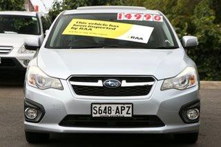 2012 Subaru Impreza G4 MY12 2.0i-S Lineartronic AWD Ice Silver 6 Speed Constant Variable Sedan
