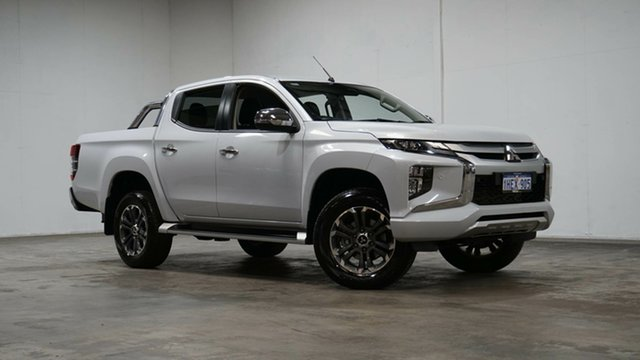 Used Mitsubishi Triton MR MY19 GLS Double Cab Welshpool, 2018 Mitsubishi Triton MR MY19 GLS Double Cab White 6 Speed Sports Automatic Utility
