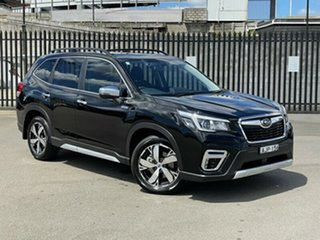 2020 Subaru Forester S5 MY20 Hybrid S CVT AWD Black 7 Speed Constant Variable Wagon Hybrid