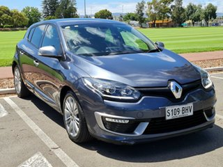 2015 Renault Megane III B95 Phase 2 GT-Line EDC Blue Grey 6 Speed Sports Automatic Dual Clutch
