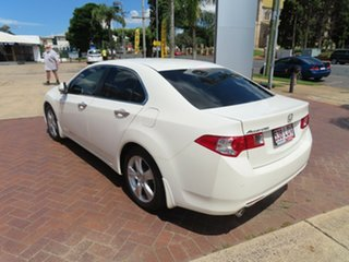 2009 Honda Accord 10 Euro White 5 Speed Automatic Sedan