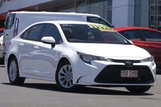 2019 Toyota Corolla Mzea12R Ascent Sport White 10 Speed Constant Variable Sedan.
