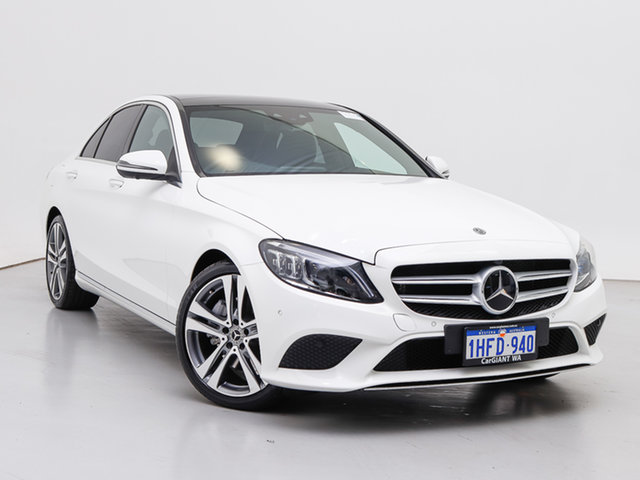 Used Mercedes-Benz C300 205 MY19 , 2018 Mercedes-Benz C300 205 MY19 White 9 Speed Automatic G-Tronic Sedan