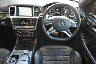 2014 Mercedes-Benz M-Class W166 ML63 AMG SPEEDSHIFT DCT Black 7 Speed Sports Automatic Dual Clutch