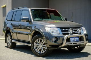 2013 Mitsubishi Pajero NW MY13 VR-X Grey 5 Speed Sports Automatic Wagon.
