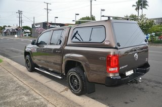 2012 Volkswagen Amarok 2H MY12.5 TDI400 (4x4) Brown 6 Speed Manual Dual Cab Utility
