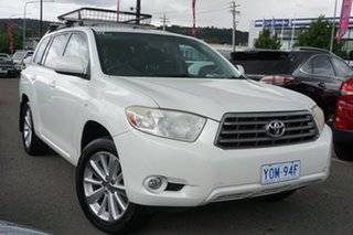 2009 Toyota Kluger GSU40R Altitude 2WD White 5 Speed Sports Automatic Wagon.