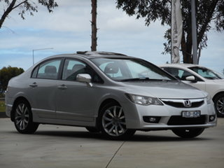 2010 Honda Civic 8th Gen MY10 Sport Silver 5 Speed Automatic Sedan.