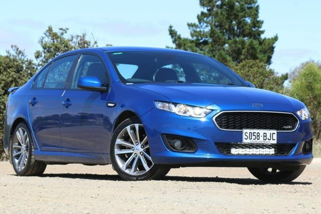 Used Ford Falcon FG X XR6 Clare, 2015 Ford Falcon FG X XR6 Blue 6 Speed Sports Automatic Sedan