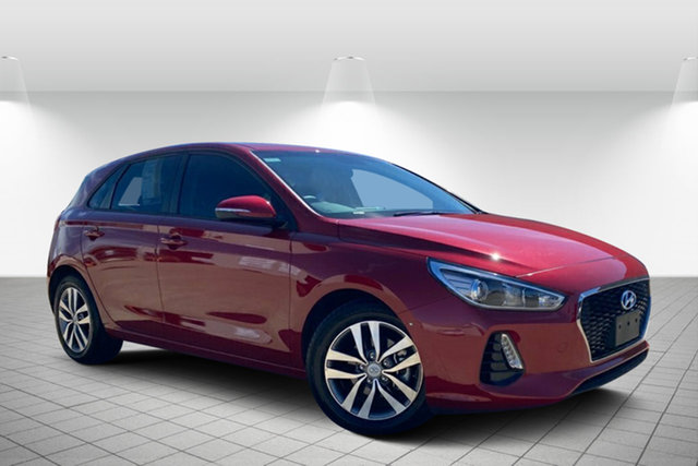 Used Hyundai i30 PD MY18 Active Hervey Bay, 2017 Hyundai i30 PD MY18 Active Red 6 Speed Sports Automatic Hatchback