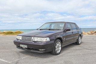 1997 Volvo S90 SE Purple 4 Speed Automatic Sedan