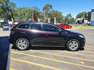 2010 Mazda CX-7 ER10A2 Sports Purple 6 Speed Manual Wagon
