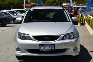 2008 Subaru Impreza G3 MY08 RS AWD Spark Silver 5 Speed Manual Hatchback