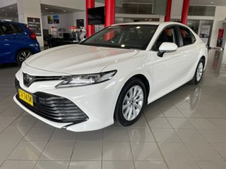 2019 Toyota Camry ASV70R Ascent White 6 Speed Sports Automatic Sedan.